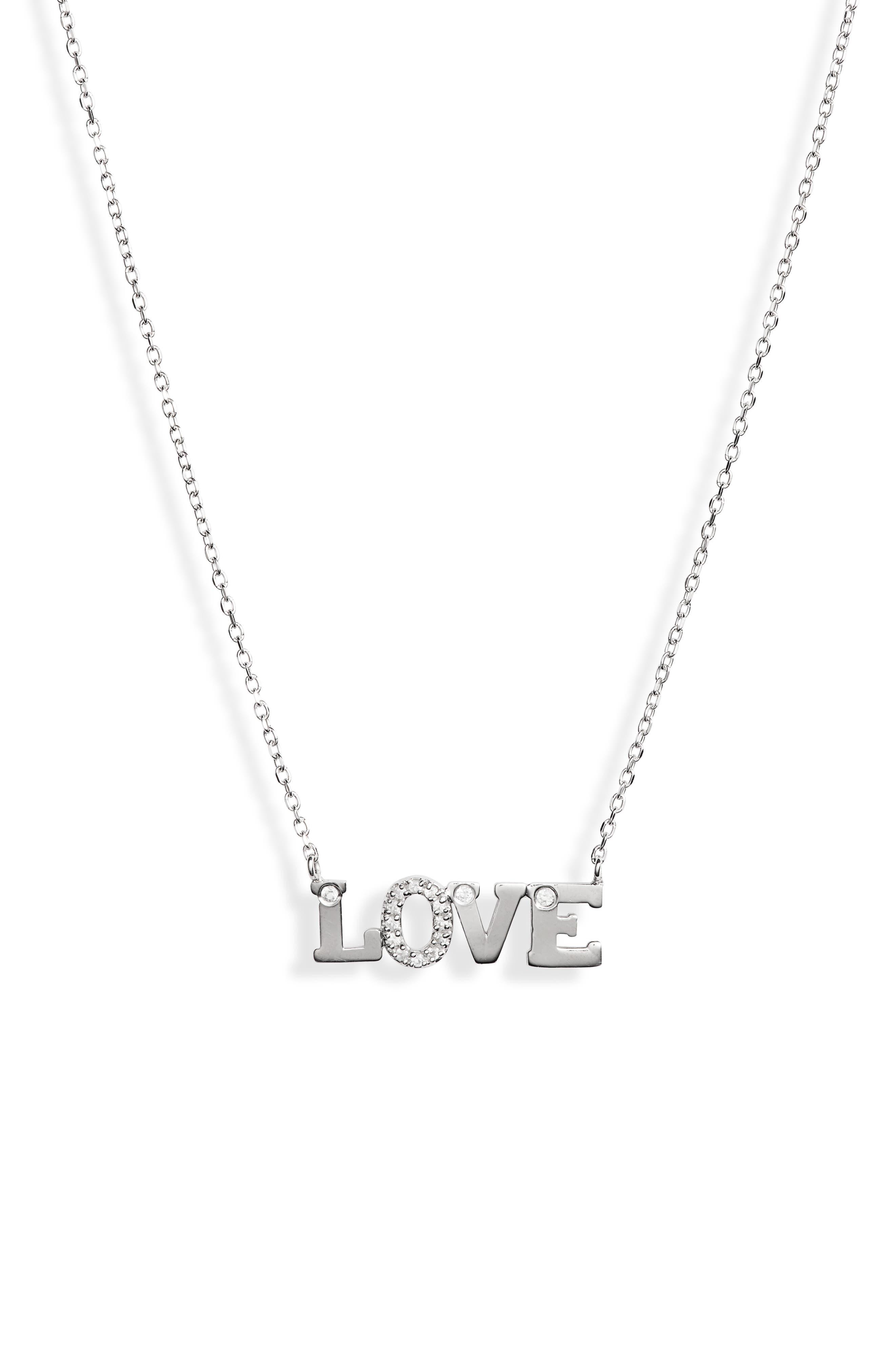 Love Letter Love Sapphire Necklace