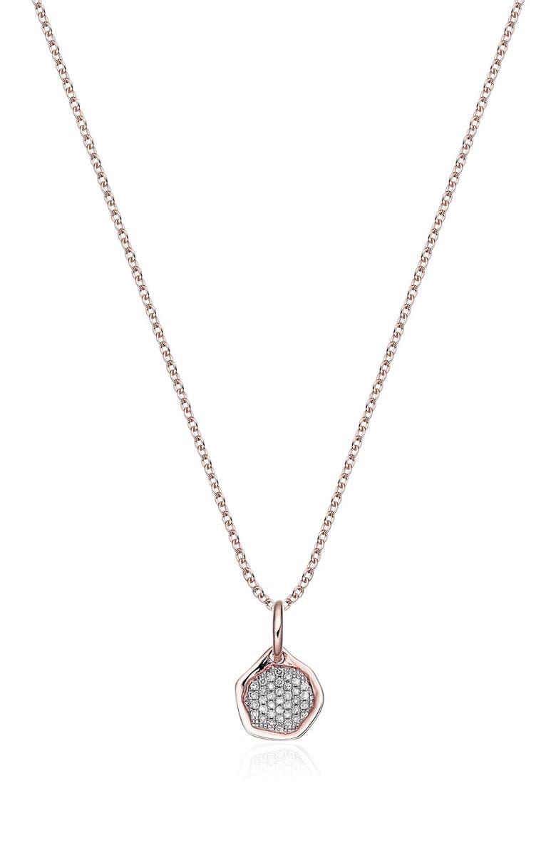 eddd80ca06c881 Monica Vinader Riva Diamond Mini Pendant Charm | Nordstrom