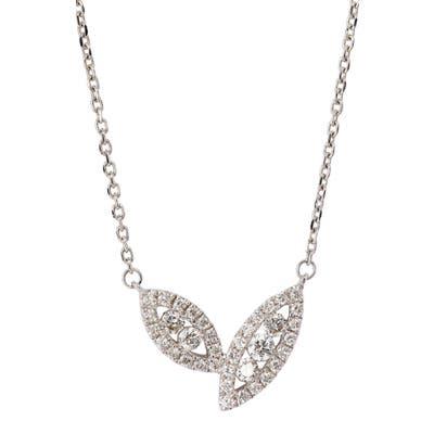 Bony Levy Audrey Diamond Marquise Pendant Necklace (Nordstrom Exclusive)