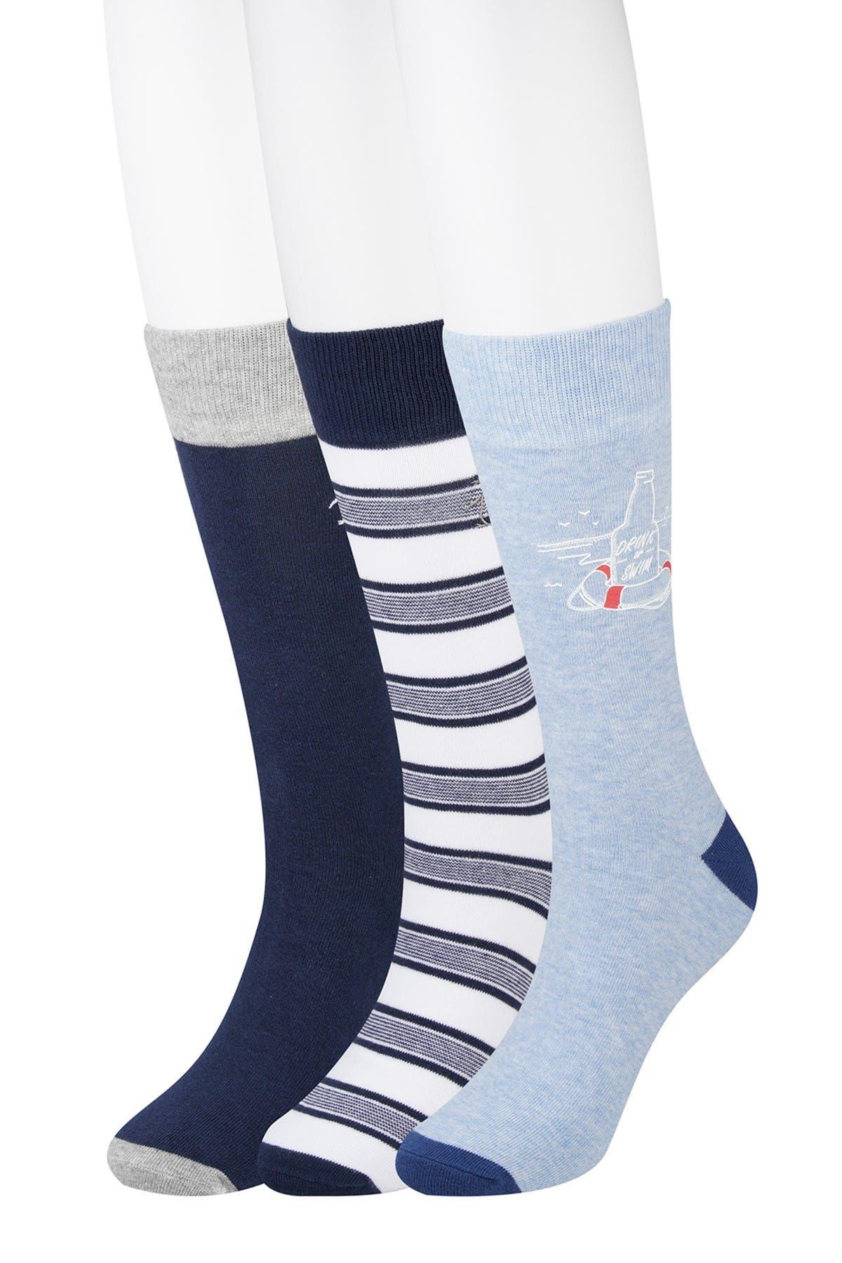 Image of Original Penguin Drink or Swim Crew Socks - Pack of 3