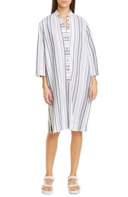 Image of NSF CLOTHING May Stripe Cotton Caftan