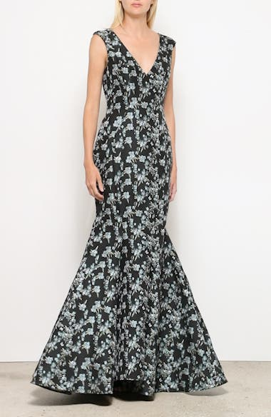 Pilar Floral Gown, video thumbnail
