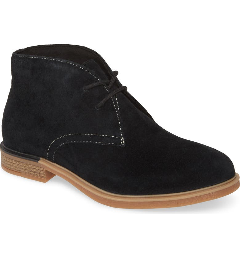 HUSH PUPPIES<SUP>®</SUP> Bailey Chukka Boot, Main, color, BLACK SUEDE