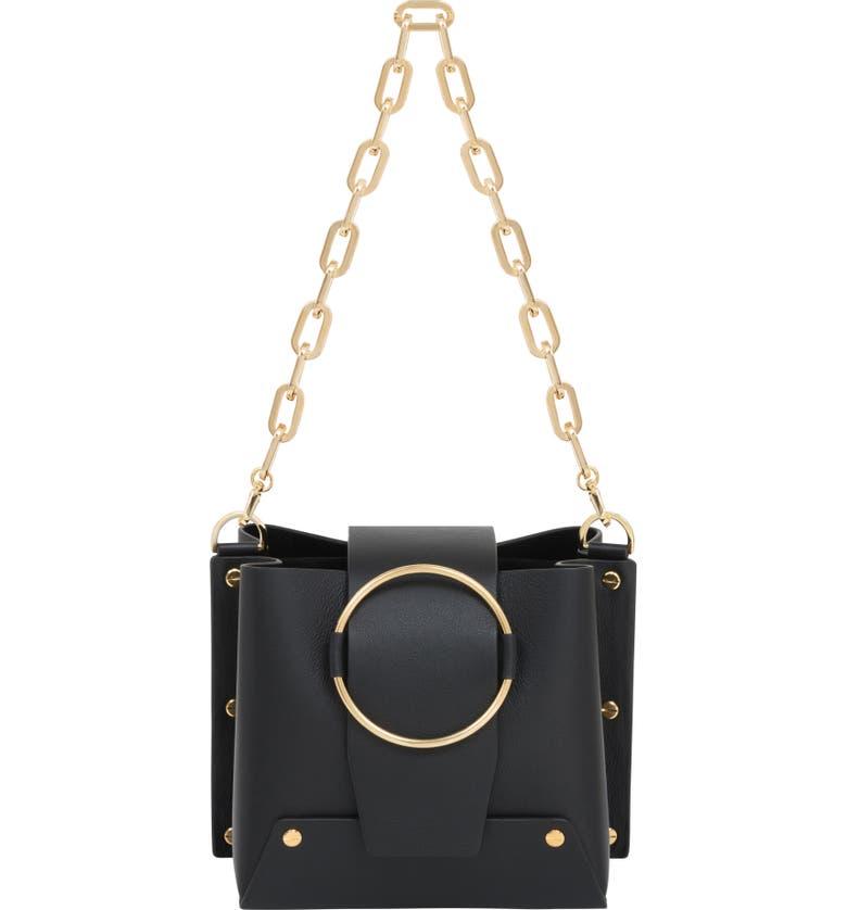 YUZEFI Delia Bucket Bag, Main, color, 001