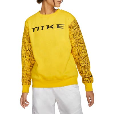 Nike Sportswear Logo Python Print Sweatshirt