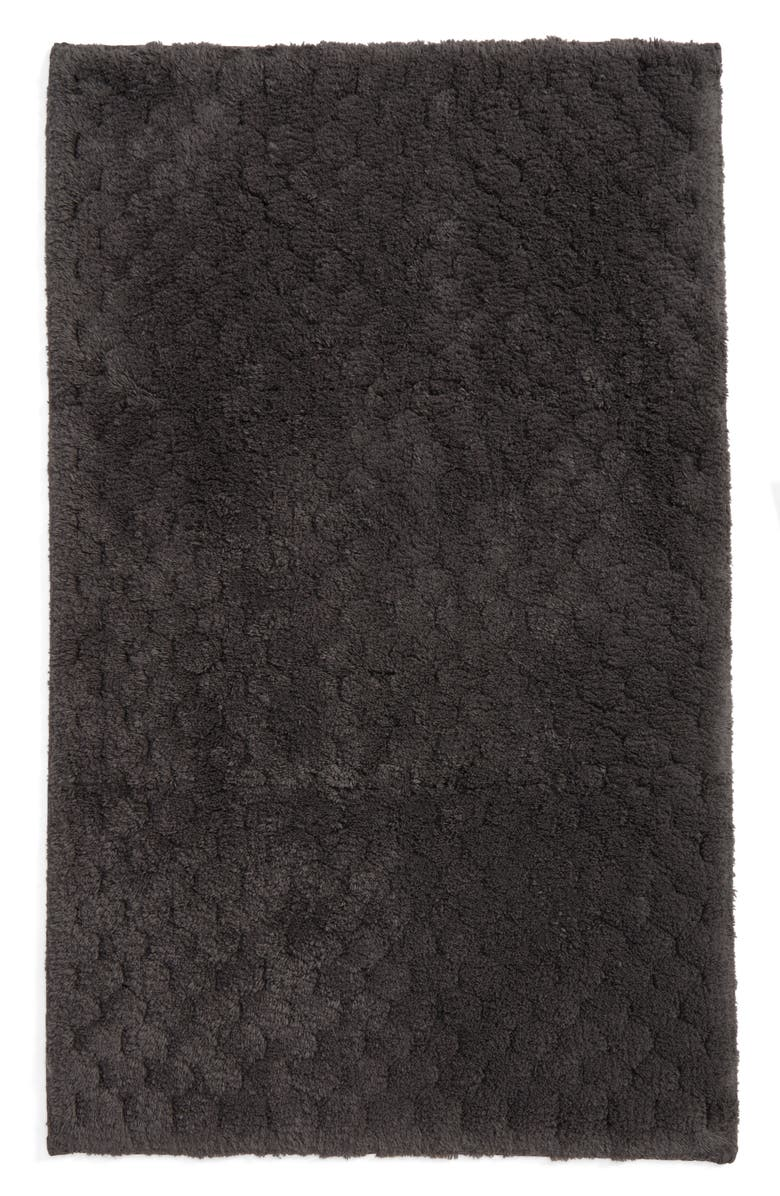 MATOUK Lotus Bath Rug, Main, color, CHARCOAL
