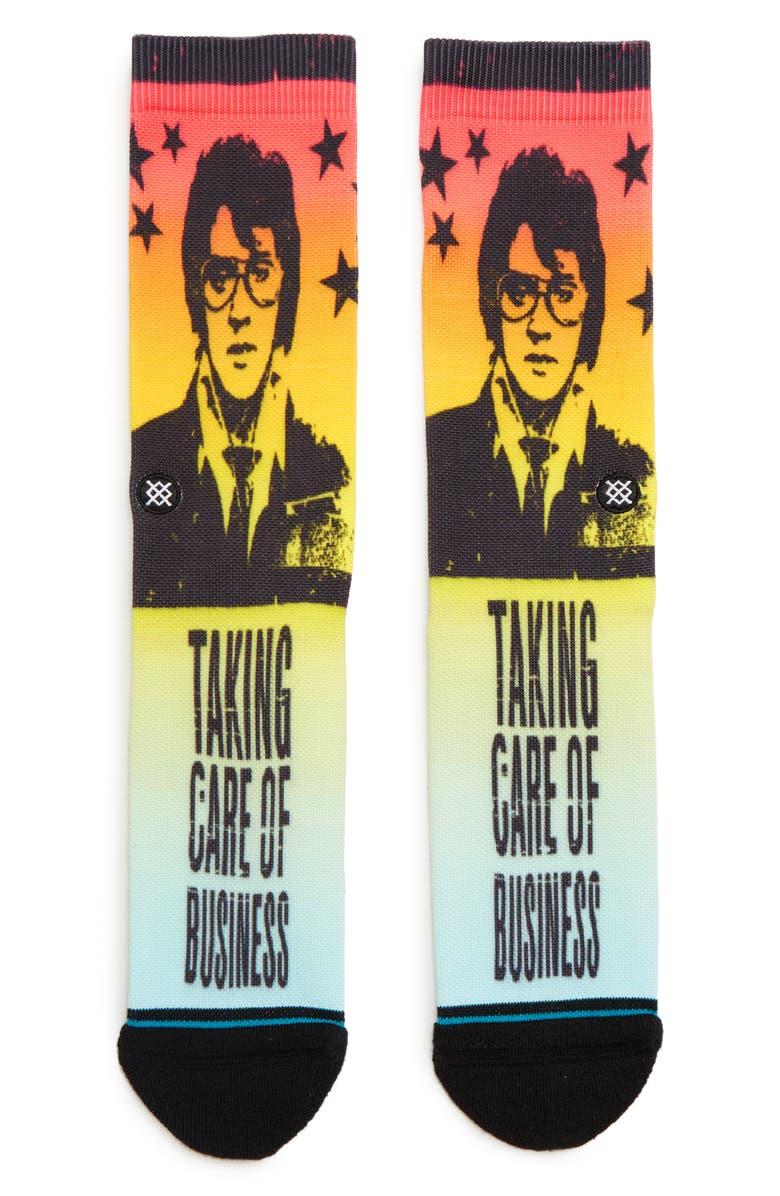 STANCE Elvis Taking Care Socks, Main, color, MULTI