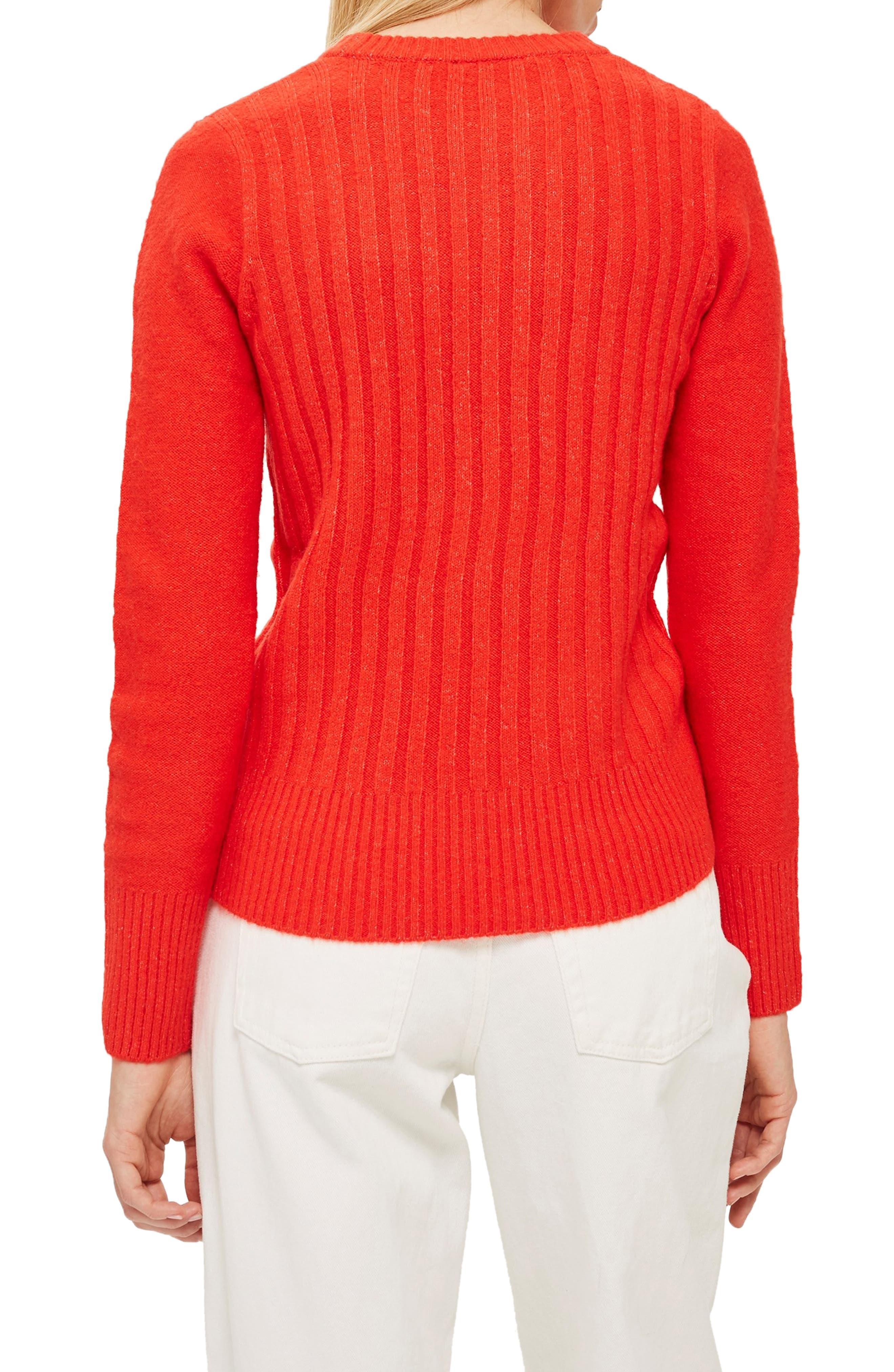 ,                             Rib Sweater,                             Alternate thumbnail 14, color,                             600