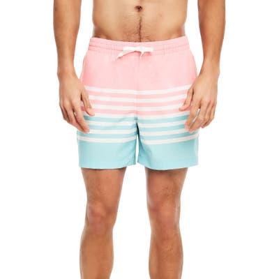 Chubbies On The Horizons Swim Trunks, Pink