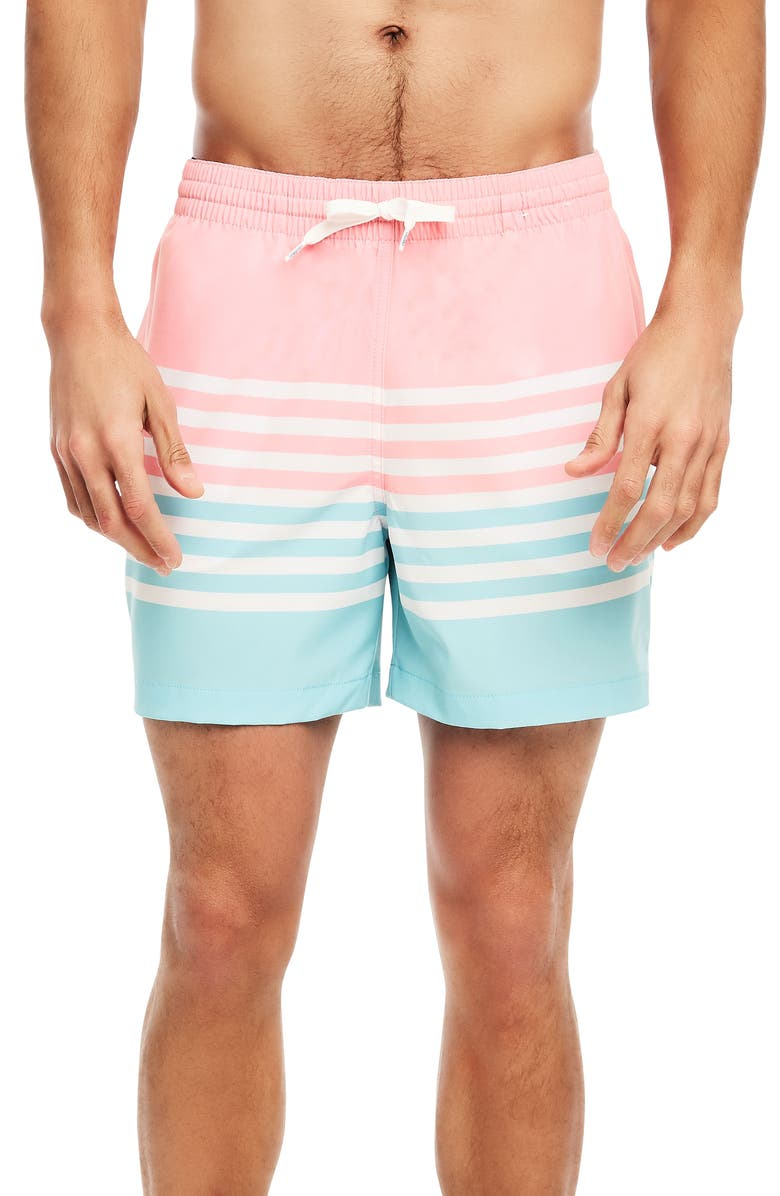 CHUBBIES On The Horizons Swim Trunks, Main, color, 650