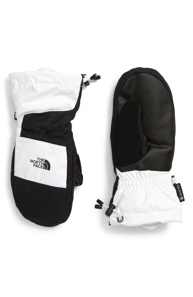 THE NORTH FACE Montana Gore-Tex<sup>®</sup> Insulated Waterproof Mittens, Main, color, TNF WHITE