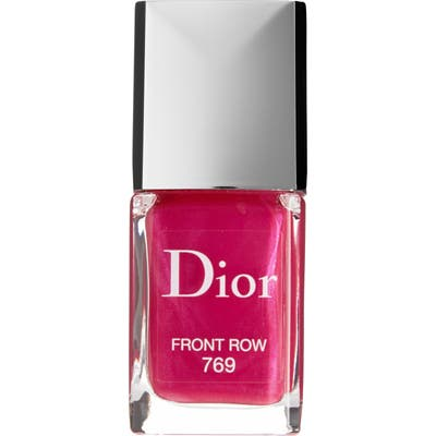 Dior Vernis Gel Shine & Long Wear Nail Lacquer - 769 Front Row