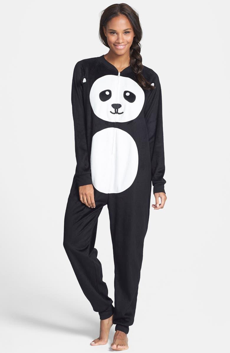 COZY ZOE Polar Fleece Pajama Jumpsuit, Main, color, 001