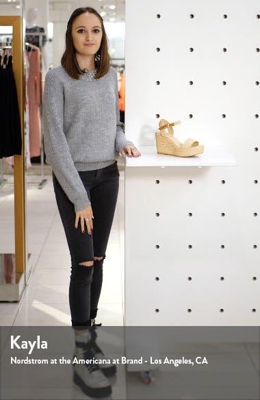 Ella Platform Wedge Sandal, sales video thumbnail