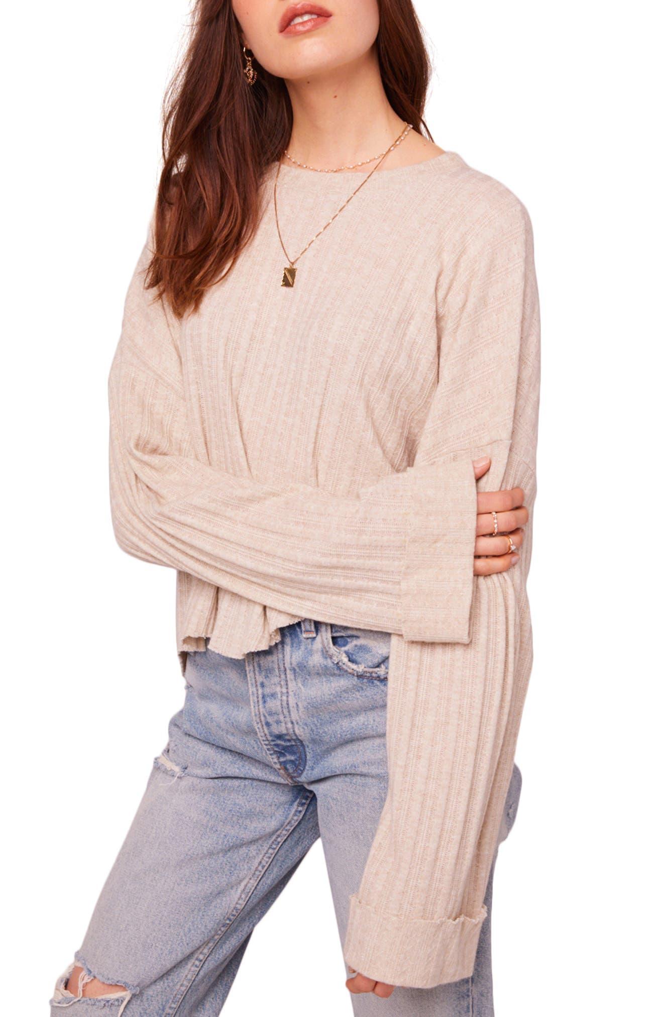 Westminster Asymmetrical Hem Sweater