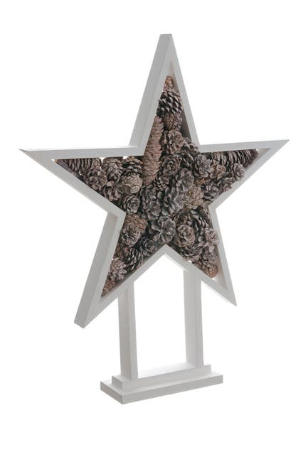 """Image of ALLSTATE 24"""" Pine Cone Star Tree"""