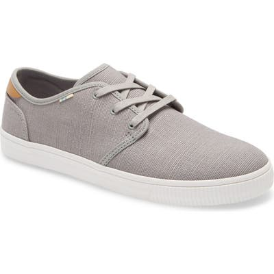 Toms Carlo Low Top Sneaker, Grey