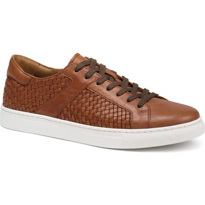 Trask Ackley Lace-Up Sneaker- Brown