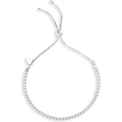 Argento Vivo Box Chain Adjustable Slider Bracelet
