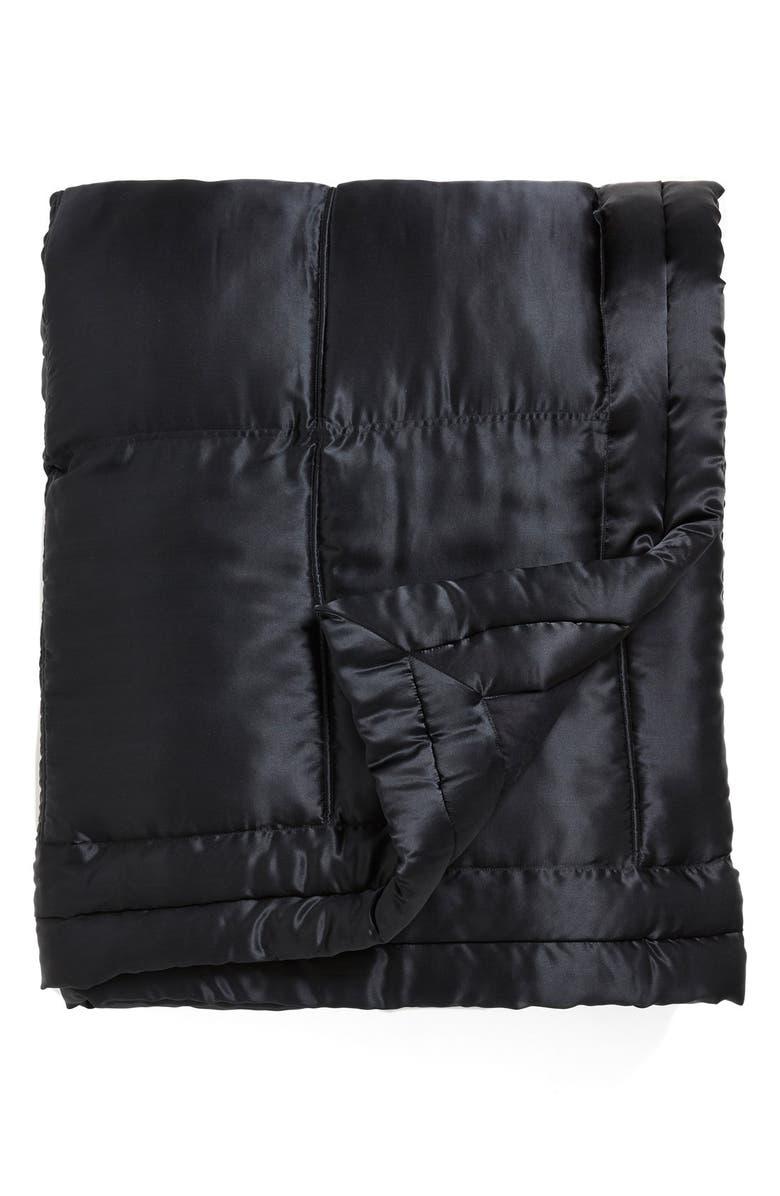 DONNA KARAN NEW YORK Donna Karan Collection 'Impression' Silk Charmeuse Quilt, Main, color, 004