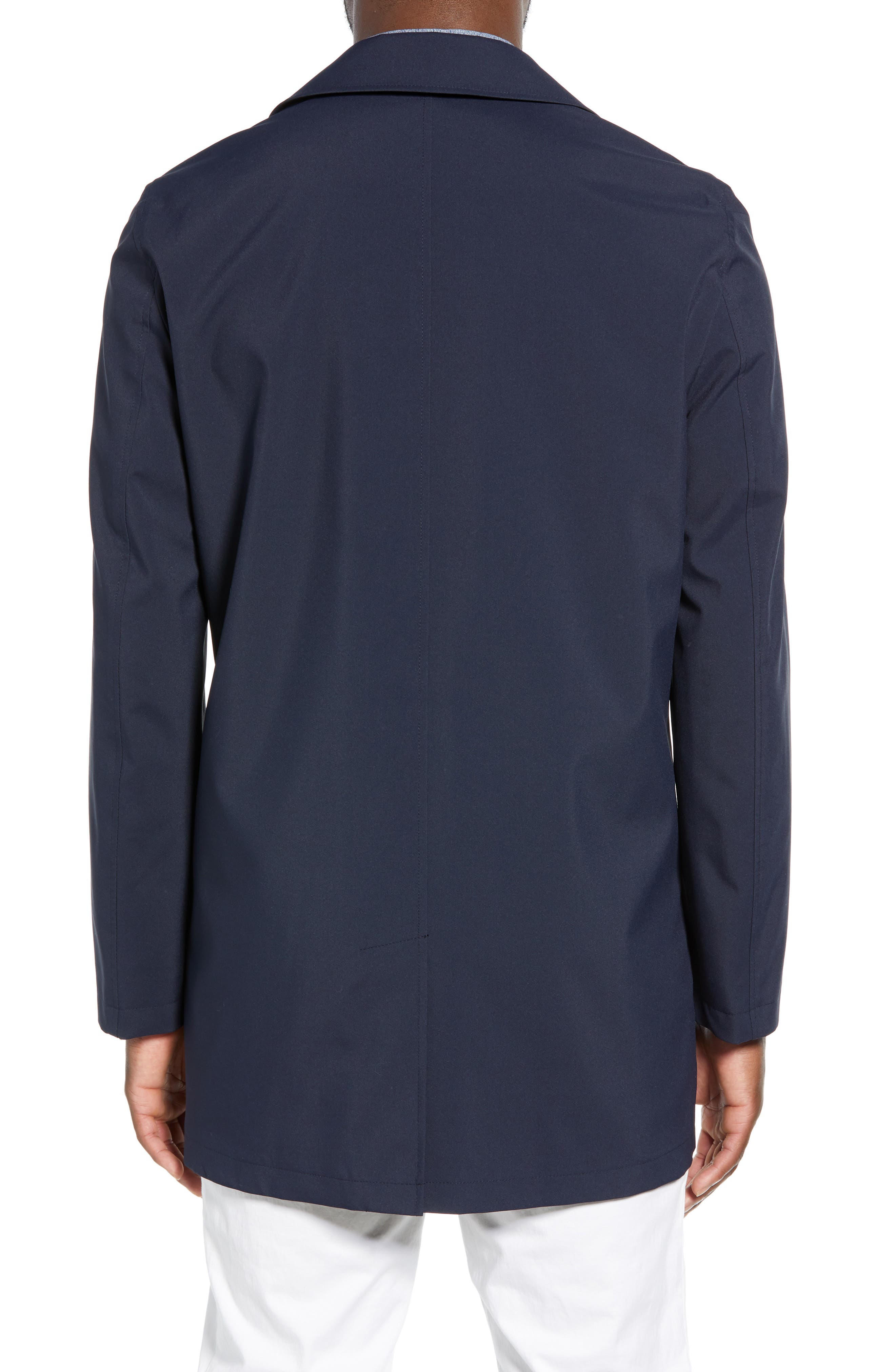 ,                             Lightweight Overcoat,                             Alternate thumbnail 2, color,                             BLUE OASIS