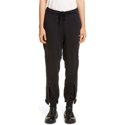 1017 Alyx 9Sm X Nike Zip Cuff Sweatpants, Black