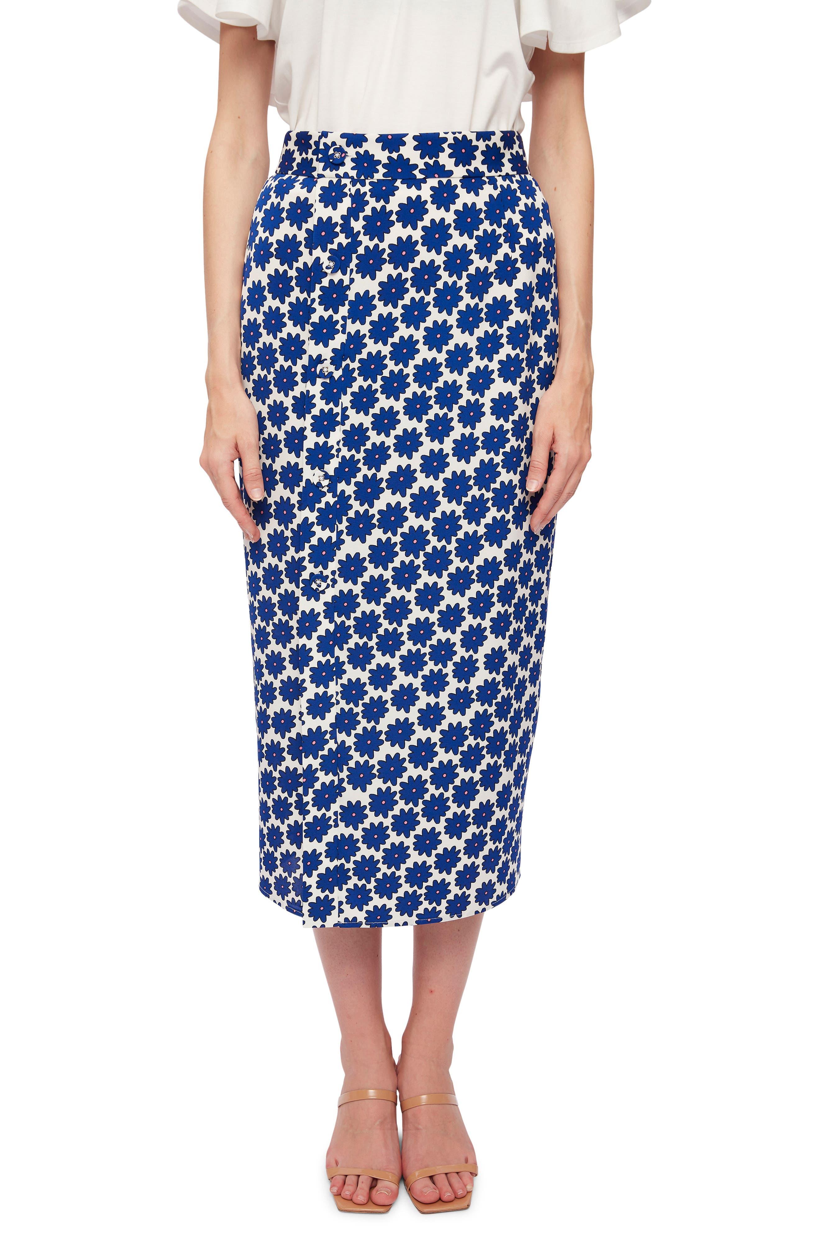 Calandra Print Skirt