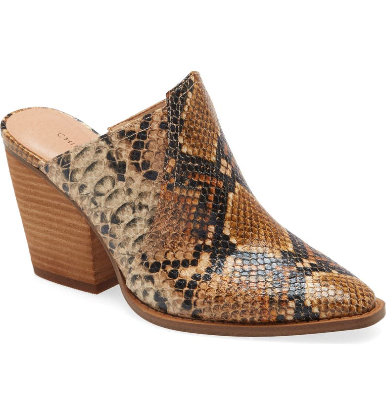 CHINESE LAUNDRY Beaute Mule, Main, color, BRONZE/ TAN FAUX LEATHER