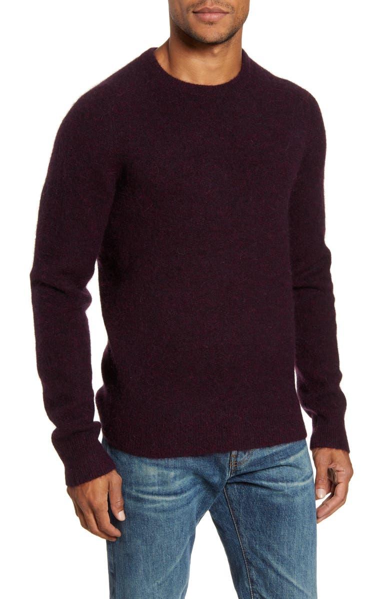 TODD SNYDER Solid Crewneck Sweater, Main, color, 930