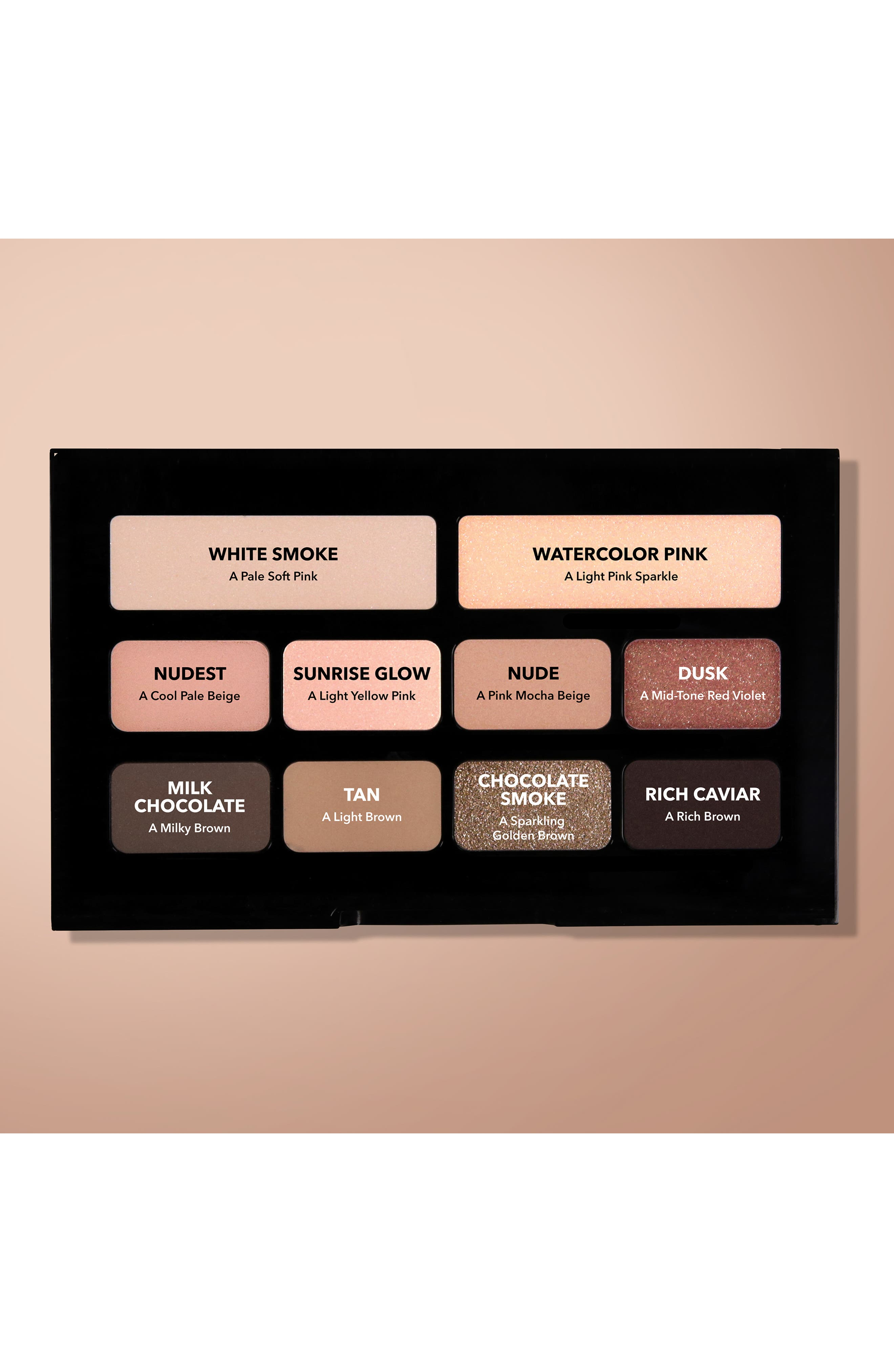 ,                             Nude on Nude Eyeshadow Palette,                             Alternate thumbnail 14, color,                             650