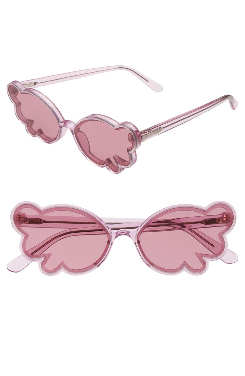 ANNA SUI Butterfly Sunglasses, Main, color, 500