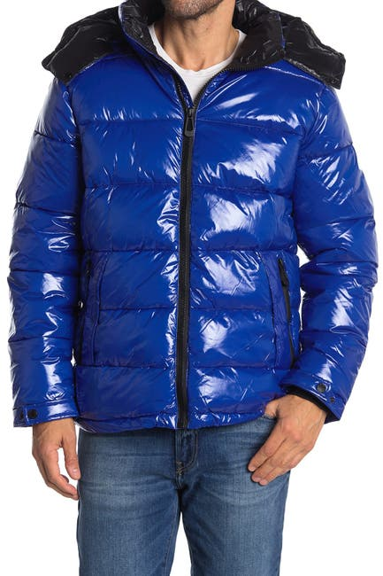 Image of NOIZE River Hooded Zip Puffer Jacket