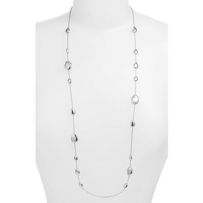 Halogen Metal Droplet Station Necklace