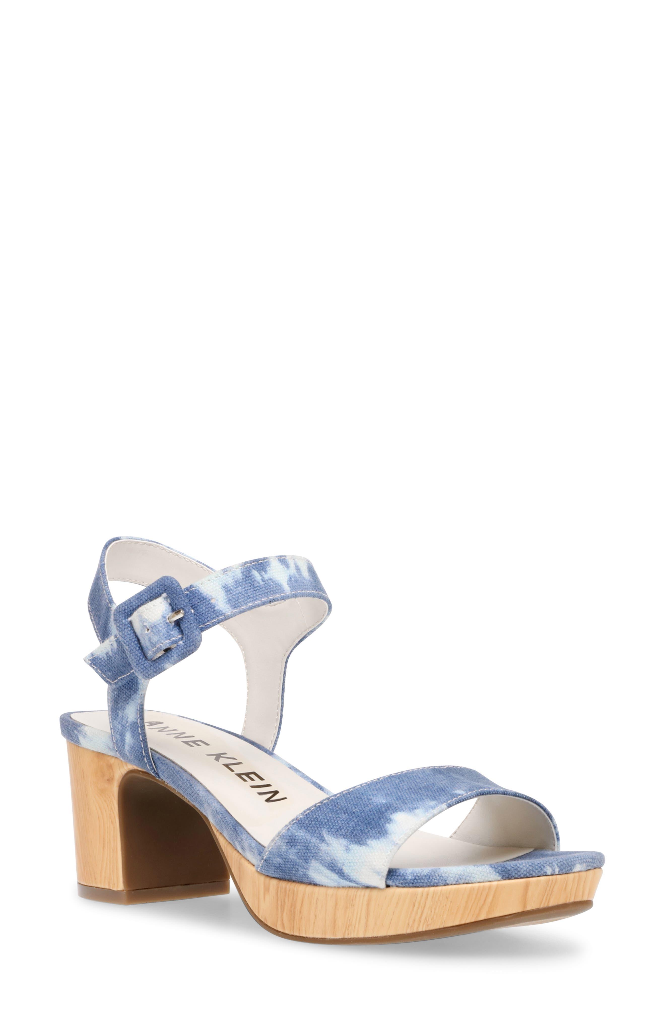 Peony Ankle Strap Sandal