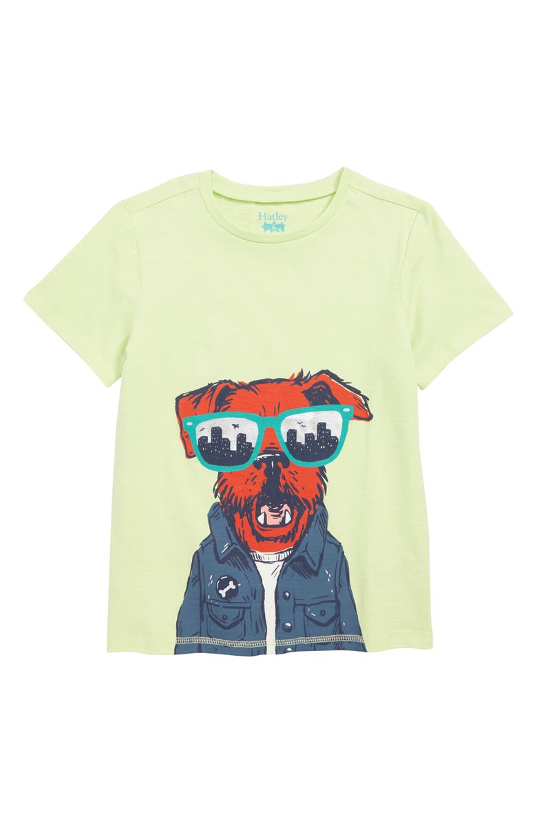 HATLEY Hip City Pup Graphic T-Shirt, Main, color, 300
