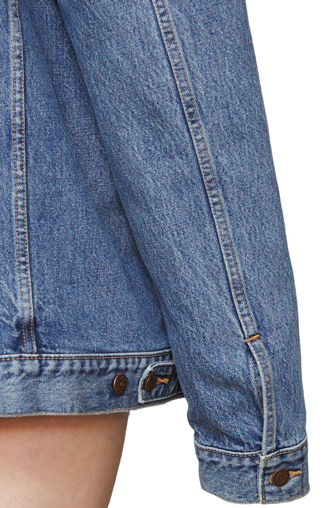 ,                             x Levi's<sup>®</sup> Denim Jacket,                             Alternate thumbnail 8, color,                             400