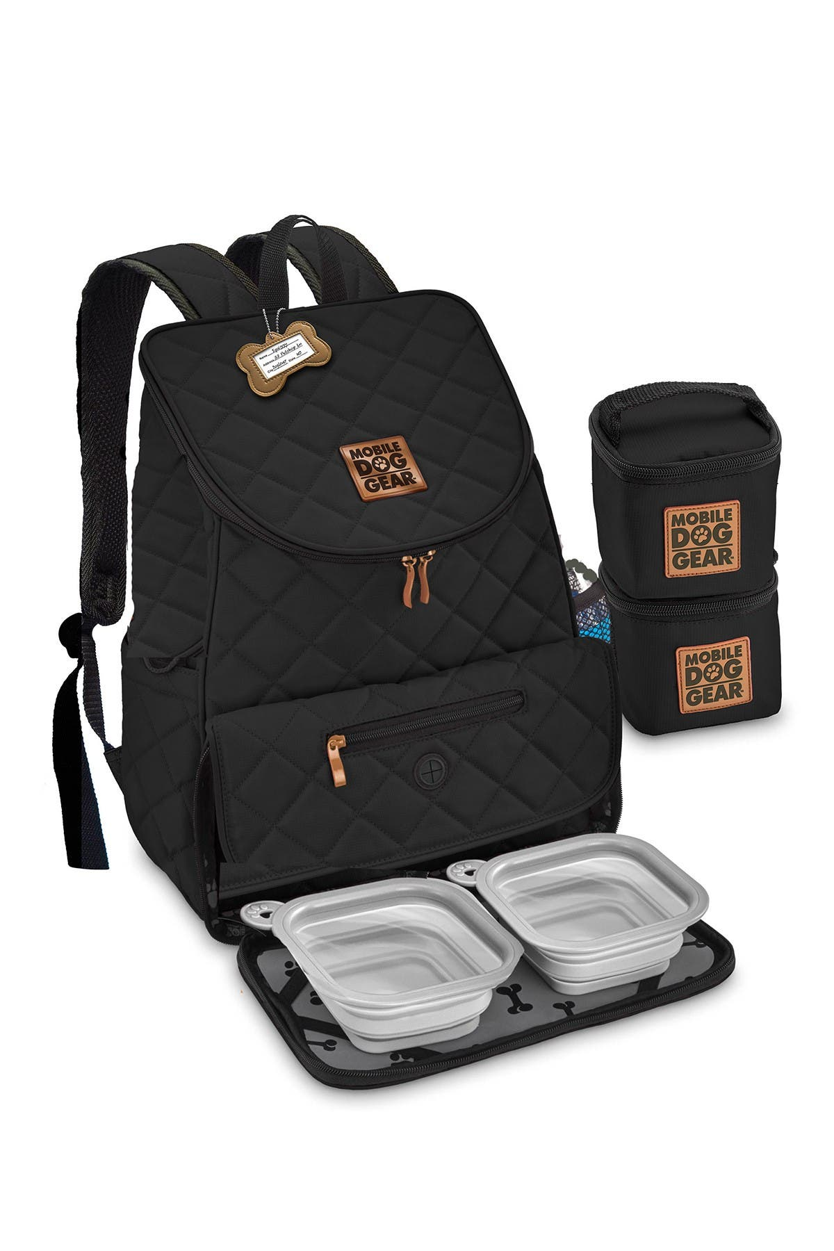 Image of MOBILE DOG GEAR Weekend Backpack - Black
