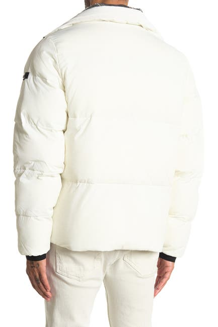 Image of Michael Kors Crinkle Nylon Puffer Jacket