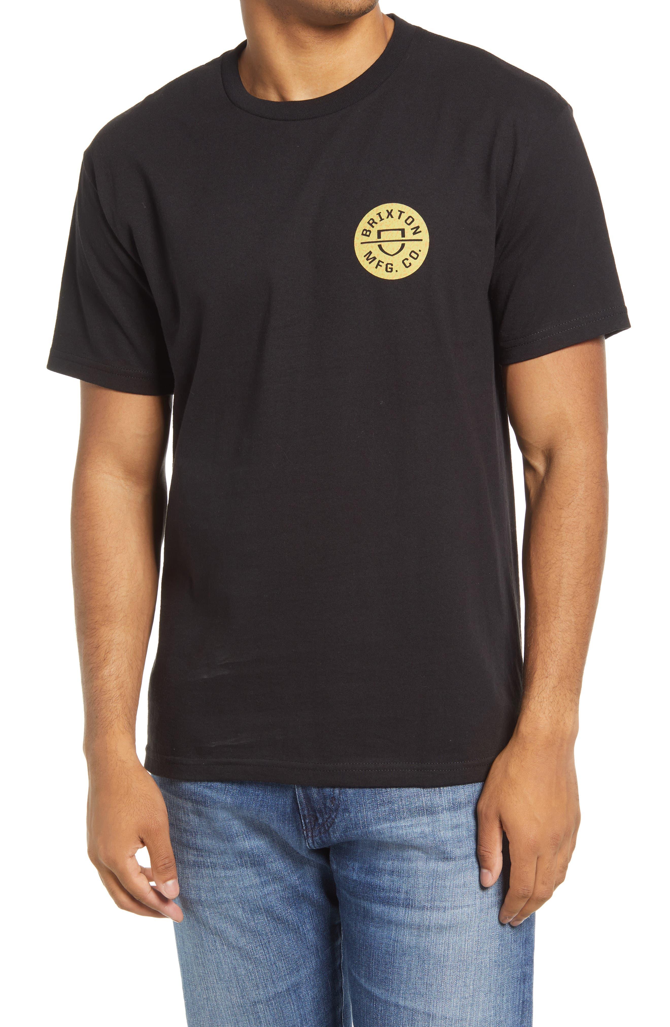 Crest Ii Logo Cotton Graphic Tee