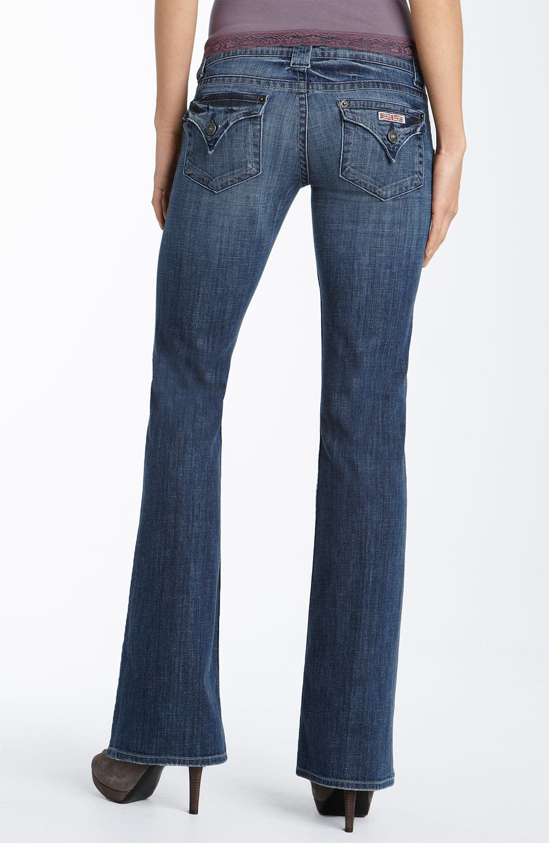 ,                             Signature Flap Pocket Bootcut Jeans,                             Alternate thumbnail 87, color,                             492