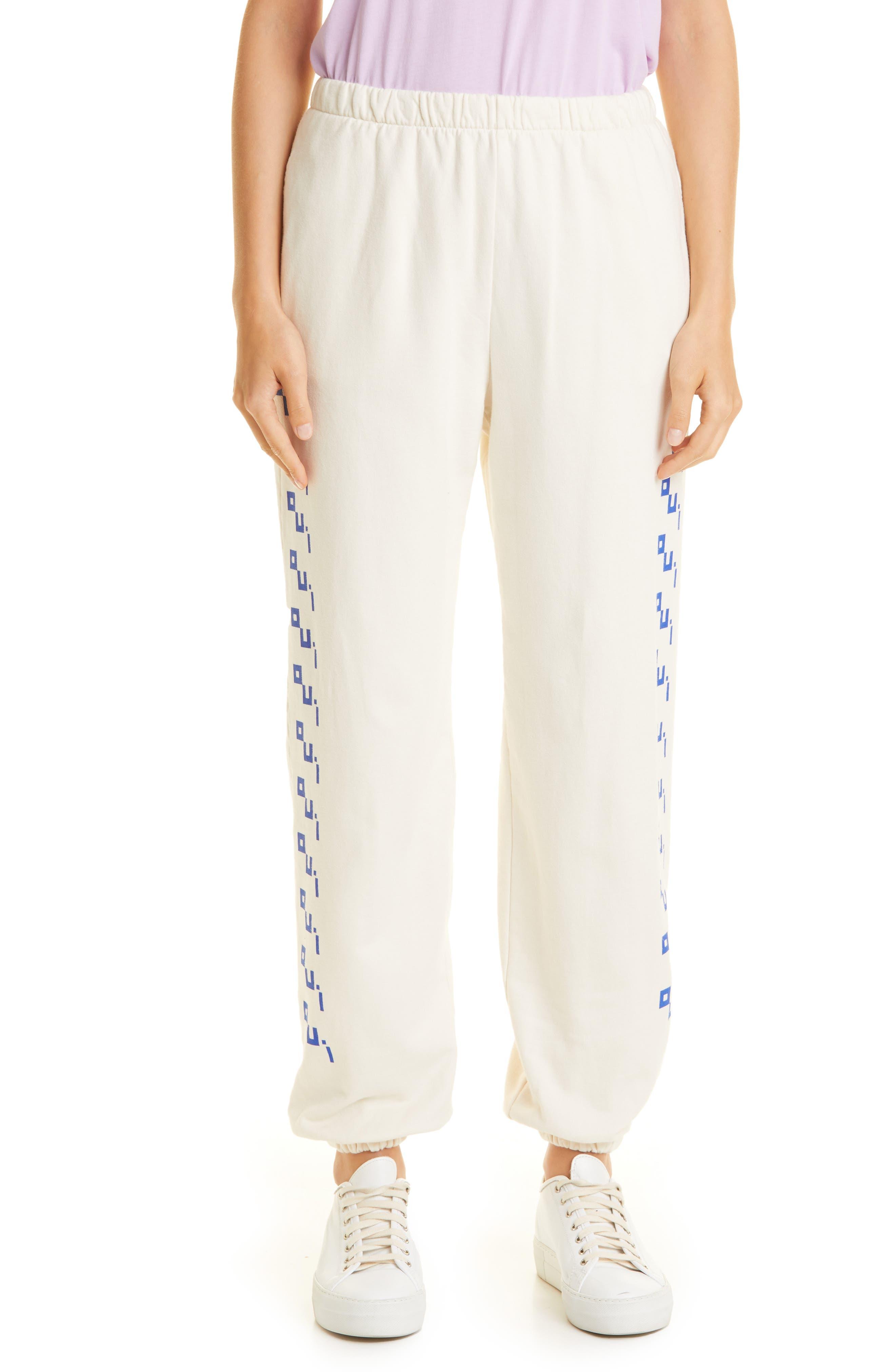 Graphic Cotton Sweatpants