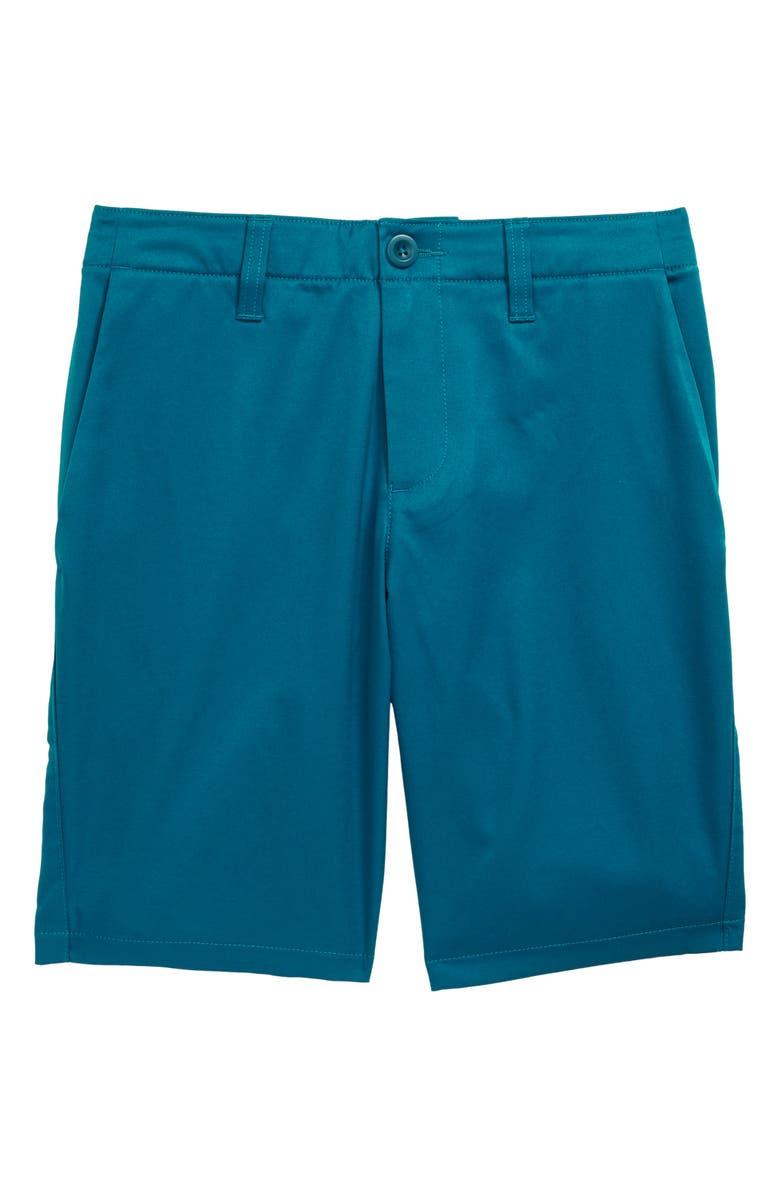 UNDER ARMOUR Match Play Golf Shorts, Main, color, TEAL VIBE/ STEEL