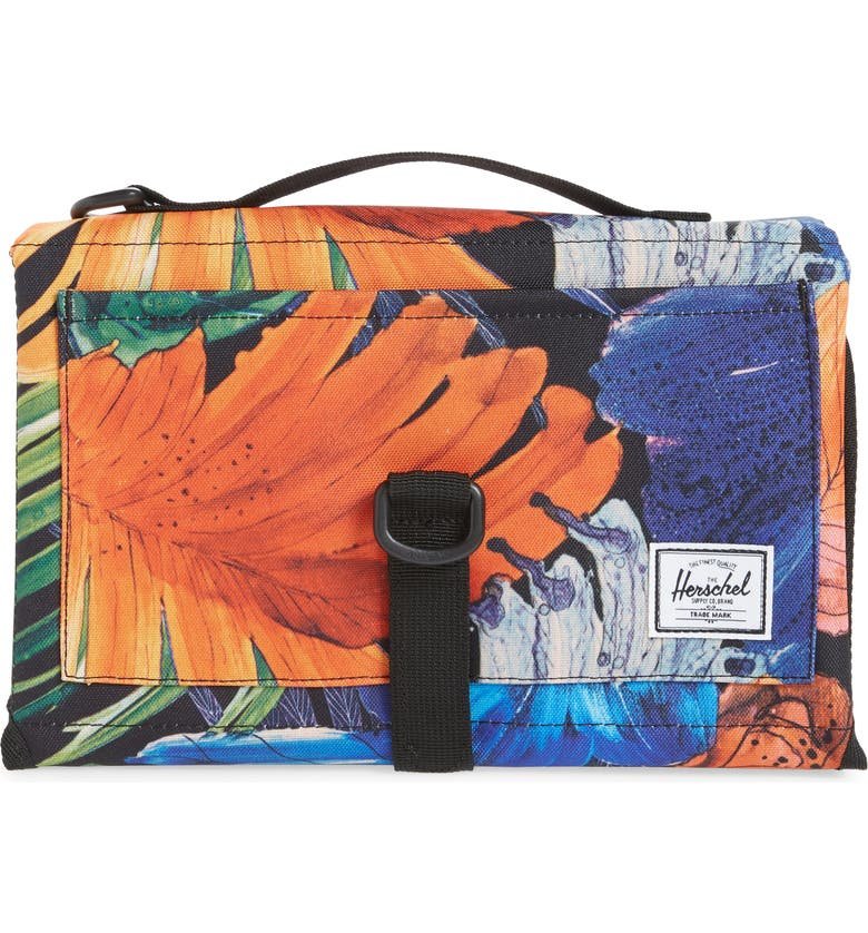 HERSCHEL SUPPLY CO. Sprout Change Mat, Main, color, WATER COLOR