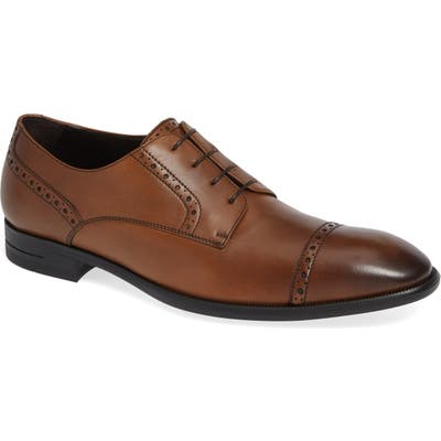 Ermenegildo Zegna Cap Toe Derby, Brown