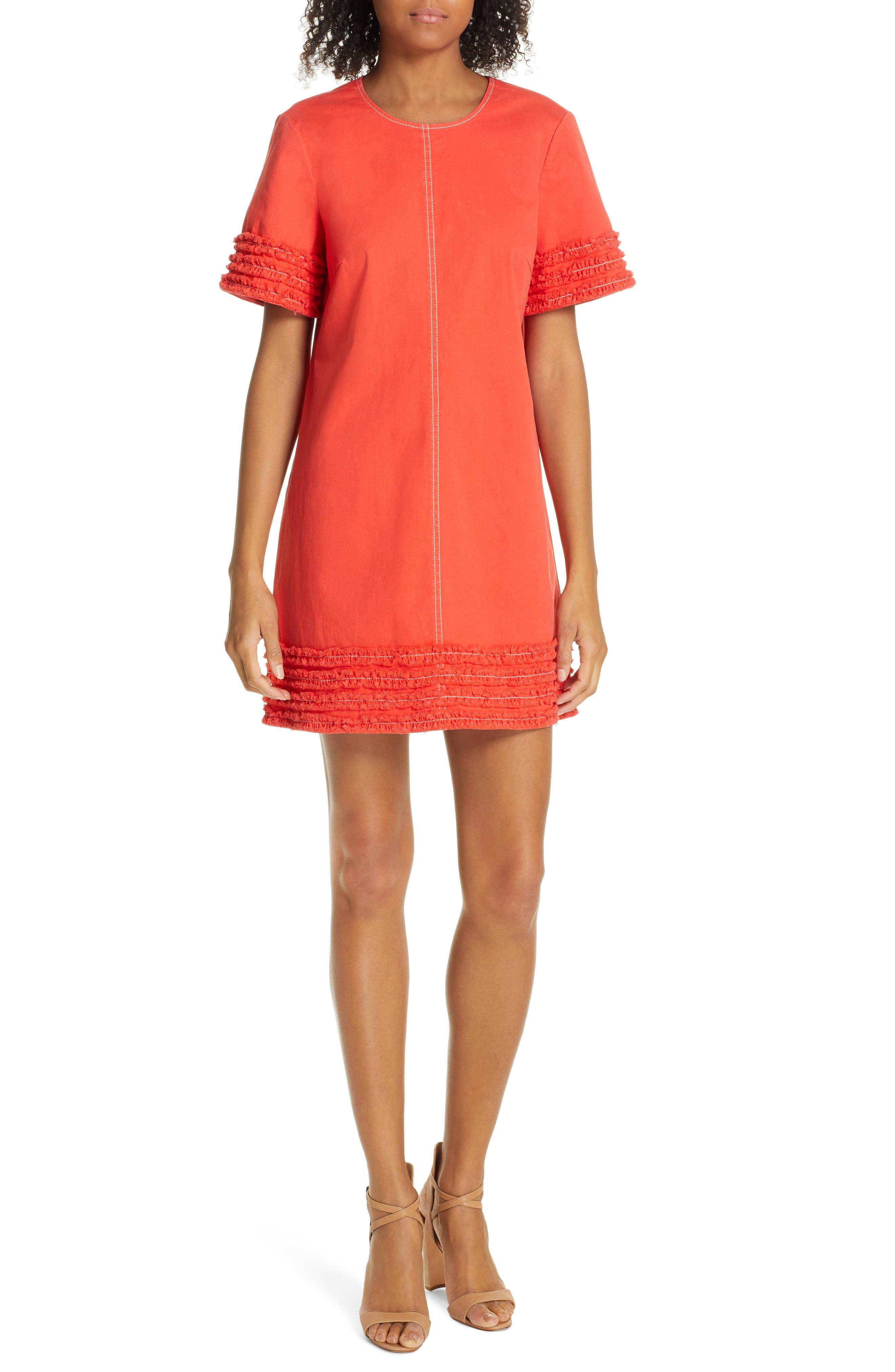 Cinq A Sept Ashton Dress, Red