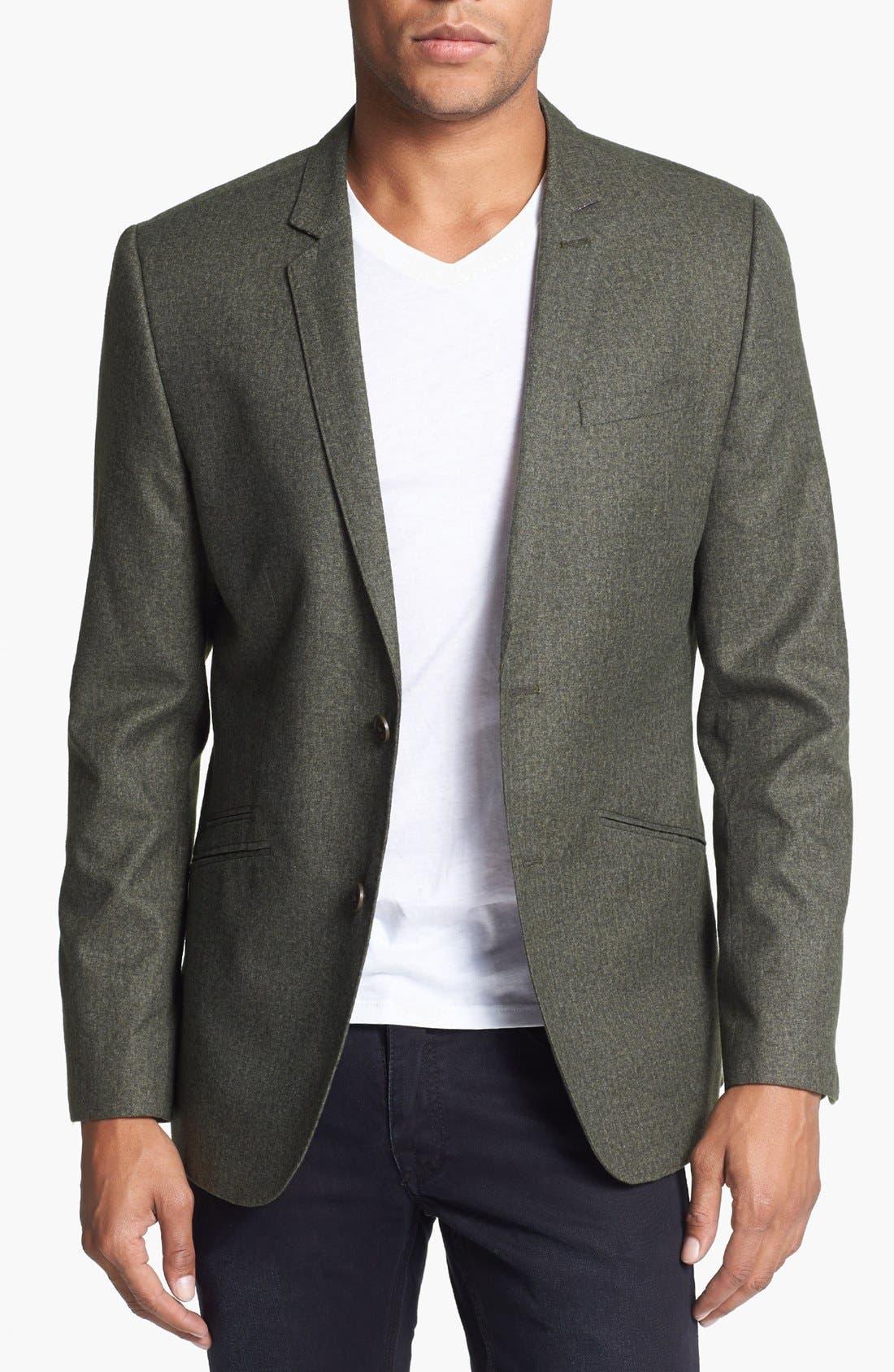t shirt under sport coat