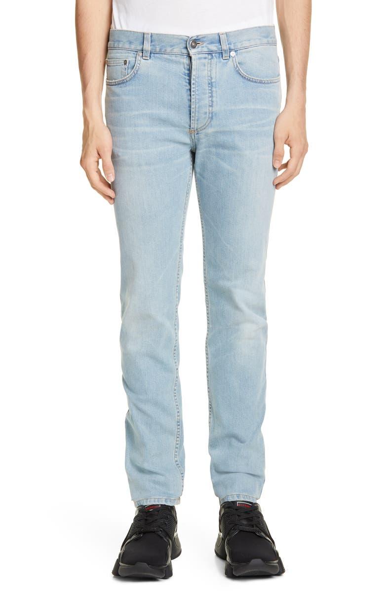 GIVENCHY Slim Fit Jeans, Main, color, PALE BLUE