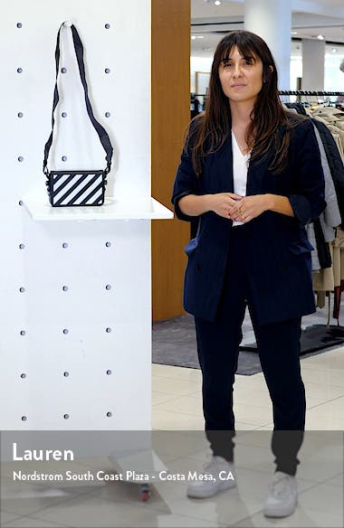 Diagonal Stripe Mini Flap Bag, sales video thumbnail