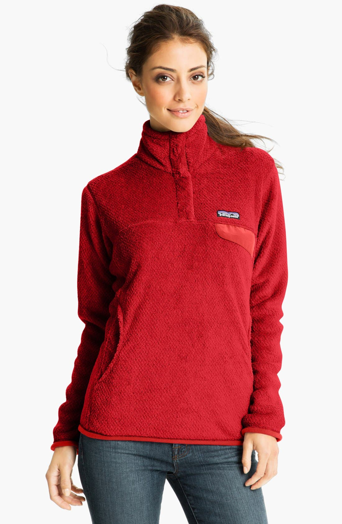 ,                             Re-Tool Snap-T<sup>®</sup> Fleece Pullover,                             Main thumbnail 174, color,                             601
