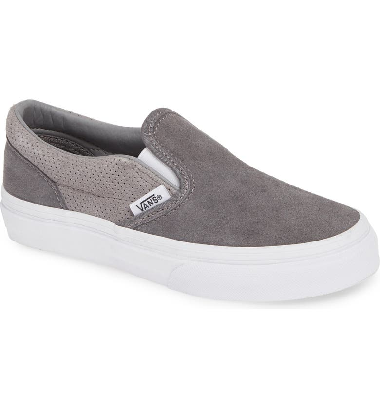 VANS Classic Perforated Slip-On Sneaker, Main, color, 030